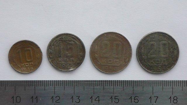 Экспонаты денежных единиц музея Большеорловской ООШ 28a42f90f907