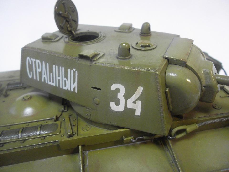 КВ-1 начало 1942 г., 1/35, (ВЭ №35088 + №35084). D23a49acffe5