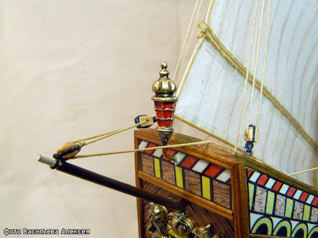 Галеон GOLDEN HIND (Золотая лань) ЖЕЛЕЗНОГО ПИРАТА масштаб 1:53 49443f86d831