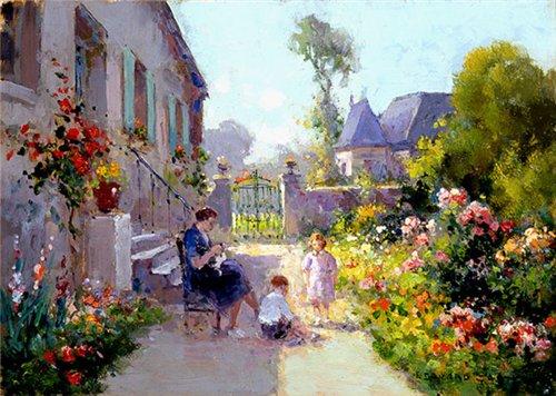 Импрессионизм в живописи - Страница 2 6e3995510bfd