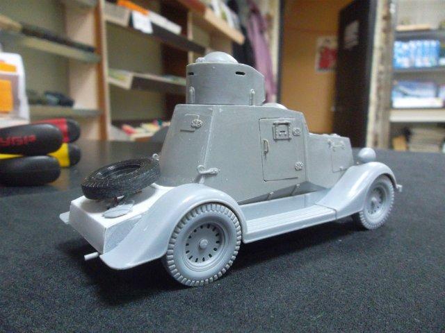 Бронеавтомобиль ФАИ-М, 1/35, (MSD 3562). 9b3286851cfc