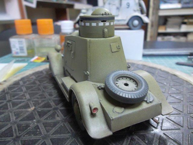 Бронеавтомобиль ФАИ-М, 1/35, (MSD 3562). D356da98ad00