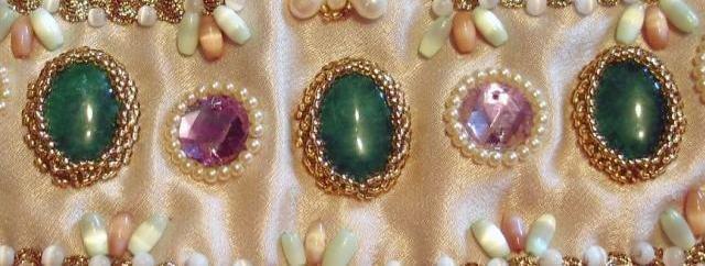 Как прикрепить камни в бисерной вышивке? 64f491413fdf