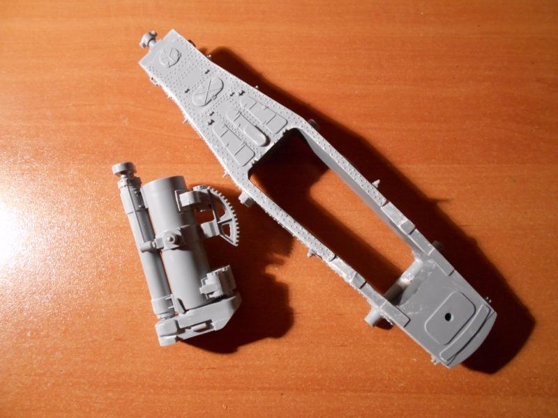 Советская 203-мм гаубица Б-4 1/35 (Alan №3522) 930aa22c5ad5
