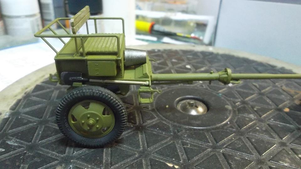 Советский артиллерийский передок 52-Р-353M, 1/35, (ICM 35481). - Страница 2 972876c54108