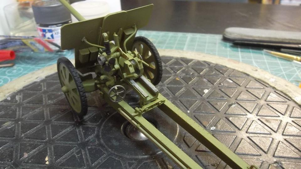 76-мм Дивизионная пушка Ф-22 обр.1936г., 1/35, (ICM 35702). 2205183669e9