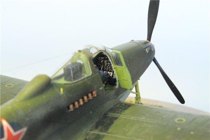 P-39 Airacobra от Eduard 1:48 65bed6098d69