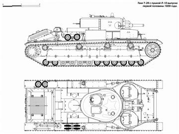 Т-28 с торсионной подвеской - Страница 3 86000c3c52b4t