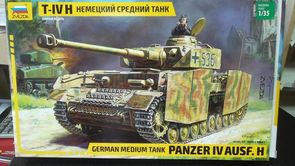 Обзор Pz-IV ausf H, 1/35, (Звезда 3620). 2ab5083ed45e