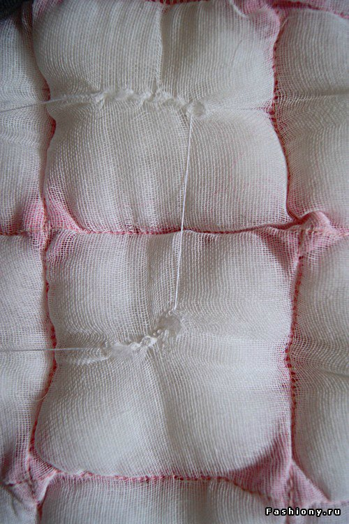 Шьем декоративное одеяло и подушку. Мастер-класс 9dd602318a7d