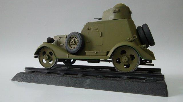 Бронеавтомобиль БА-20 Ж/Д, 1/35, (Старт). 26af7d537d8d