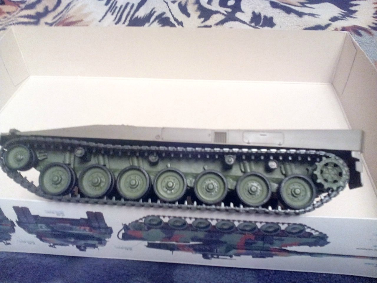 Леопард 2А6, Тамия 1/35 A3cd33c0416b