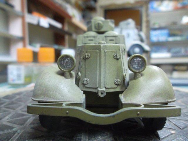 Бронеавтомобиль ФАИ-М, 1/35, (MSD 3562). Cd84b03afc3a