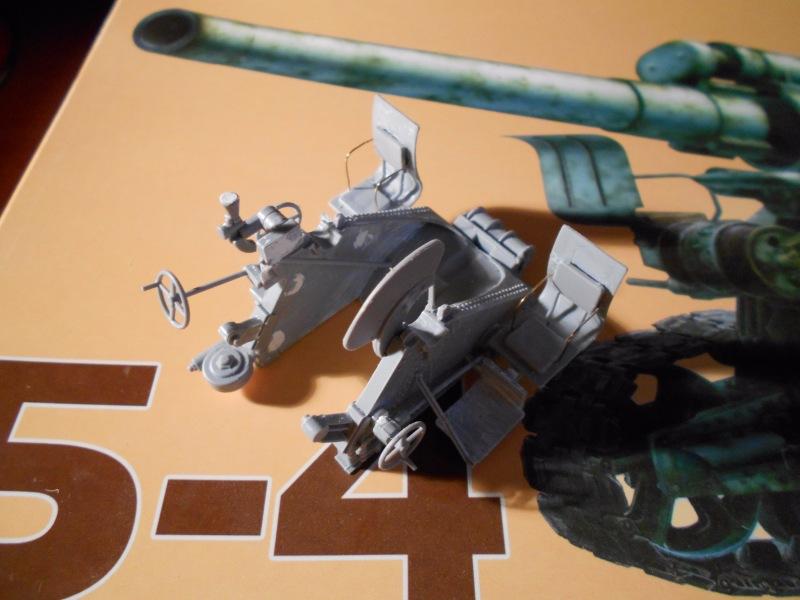 Советская 203-мм гаубица Б-4 1/35 (Alan №3522) Ee0e6b295dd4