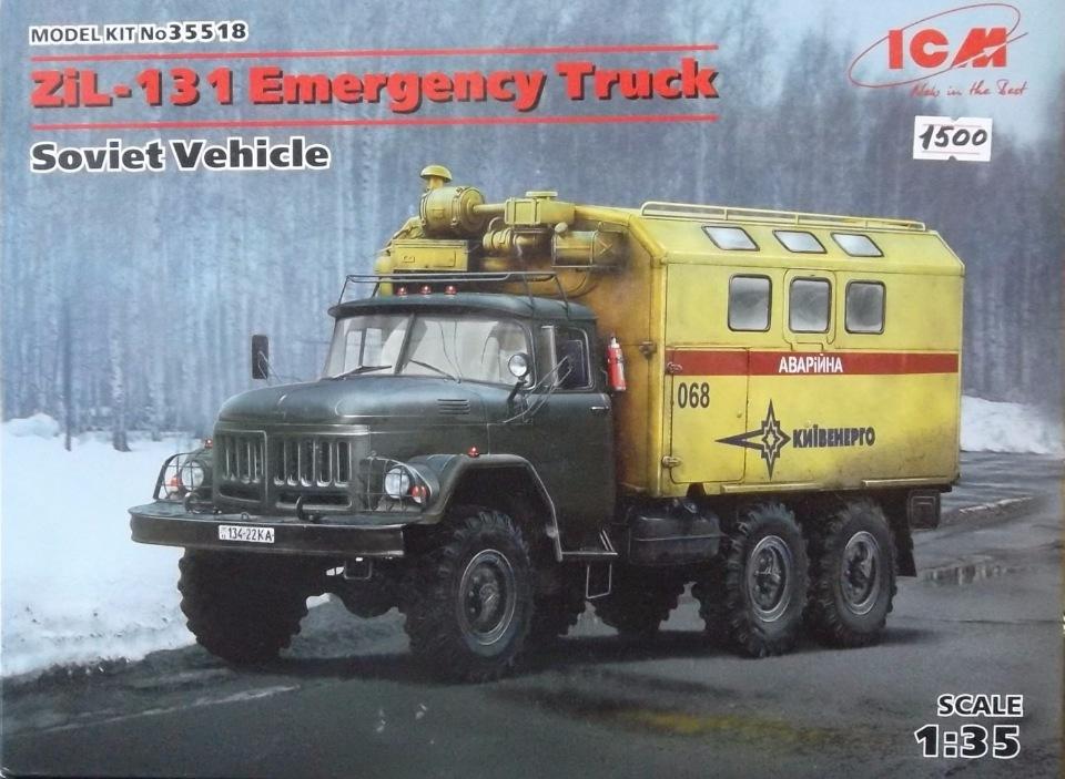 Обзор ЗиЛ-131 Аварийная служба / КУНГ, 1/35 (ICM 35518).  3188af99d716