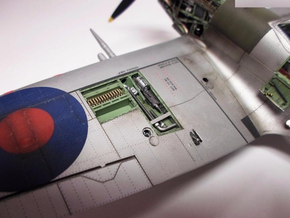 Supermarine Spitfire Eduard 1/48 5f7ee90b6522