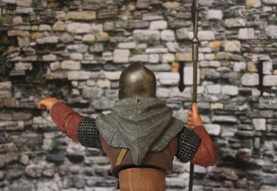 "2 шиллинга 5 пенсов ""Medieval guard"", Автор: Дмитрий Фурсов, г. Тамбов. Ad2a0cd721a6"