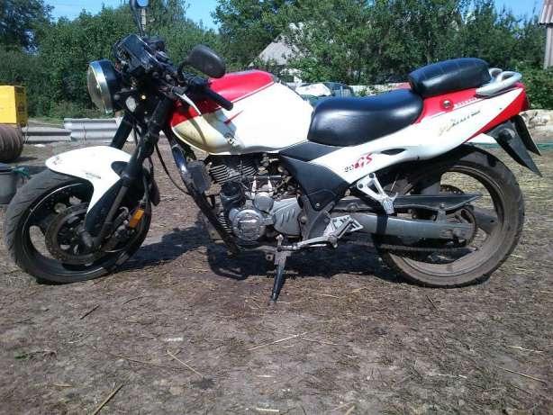Обменяю мотоцикл Zongshen ZS200GS на велосипед 1c243b49c54d