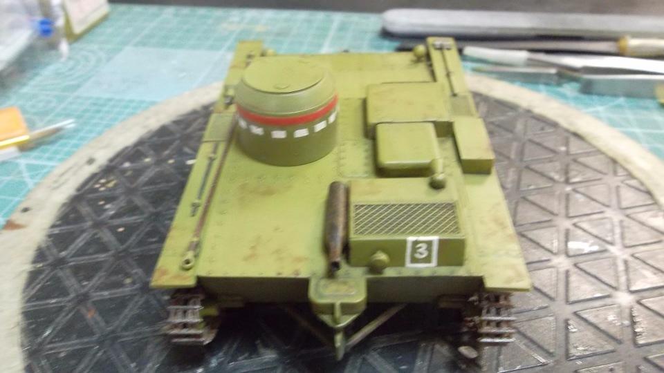 Т-38 малый плавающий танк, 1/35, (Восточный экспресс 35002 / MSD 3522 / AER Moldova). Be99c5276555