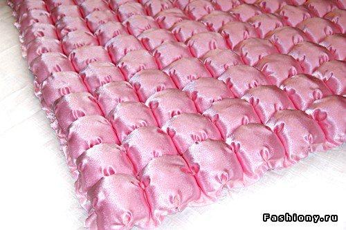 Шьем декоративное одеяло и подушку. Мастер-класс 71649e66e66c
