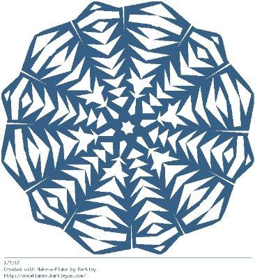 Зимнее рукоделие - вырезаем снежинки! - Страница 10 Af262433ee38