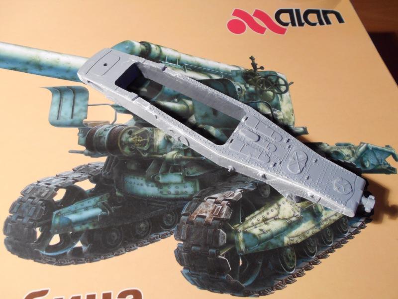 Советская 203-мм гаубица Б-4 1/35 (Alan №3522) 8f38e2489e47