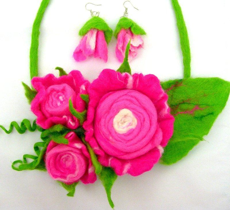 Цветы из фетра Ae49c243d29d