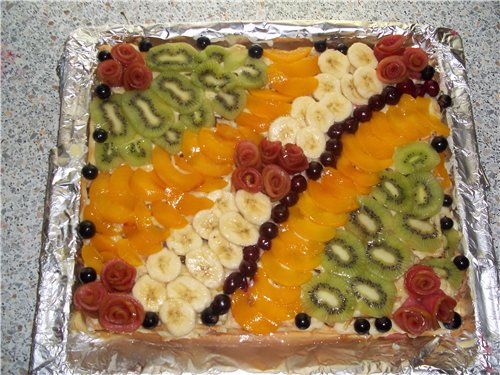 """Торт """"Тропиканка"""" 5ad11b028efe"""