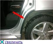 Штатные пороги на jeep compass 2007 и уплотнитель двери D945307f6ccbt