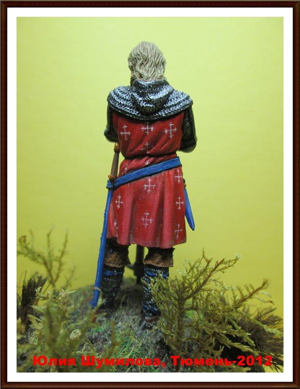 Рыцарь с боевым топором, 14 в.  Bbd598900035