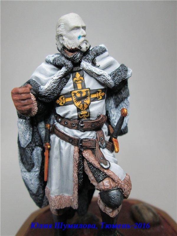 Великий Магистр Тевтонского ордена, 14в.. На Конкурс по росписи миниатюры. 15706ae06a72