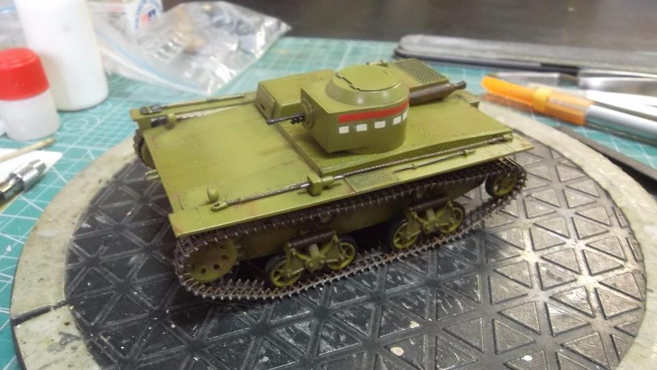 Т-38 малый плавающий танк, 1/35, (Восточный экспресс 35002 / MSD 3522 / AER Moldova). 21055ace1f5b