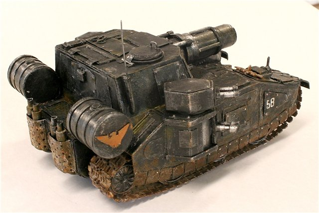 Танк по мотивам Warhammer - [готово] 59001c6cb922