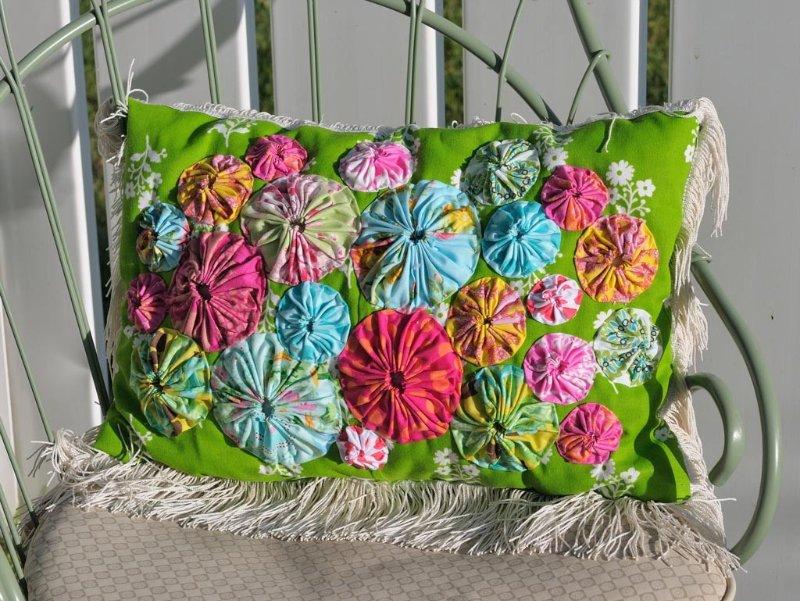 Потрясающие рукодельные декоративные подушки 0ad205452795