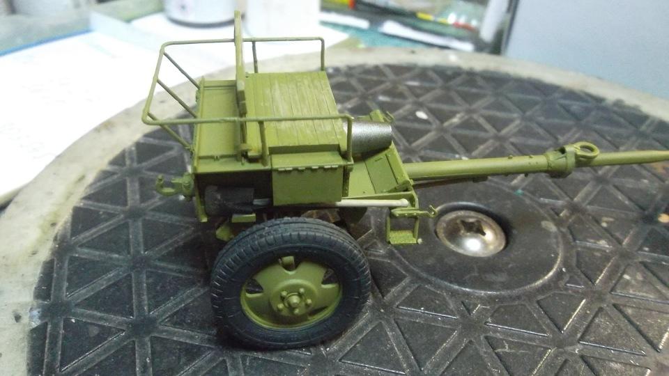 Советский артиллерийский передок 52-Р-353M обр.1942 г., 1/35, (MiniArt 35115). 930939bf9cd2