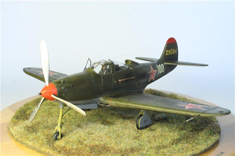 P-39 Airacobra от Eduard 1:48 1002302558be