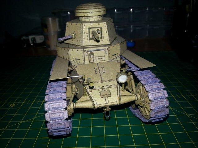 Т-18 (МС-1) Бумажное моделирование №45 E0226dfdb567