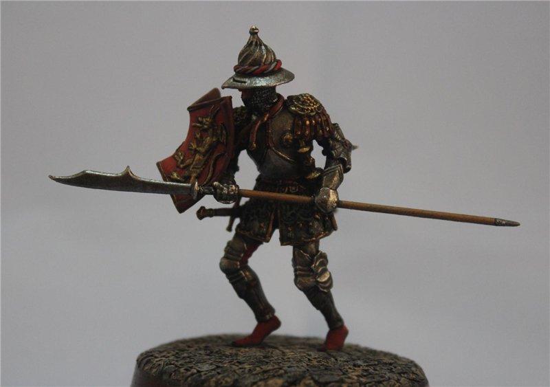 Бургундский рыцарь в миланском доспехе, 15 век.  Автор: Дмитрий Фурсов, г. Тамбов. 222707ca507b