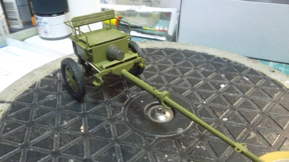 Советский артиллерийский передок 52-Р-353M, 1/35, (ICM 35481). - Страница 2 6bc822bf272e