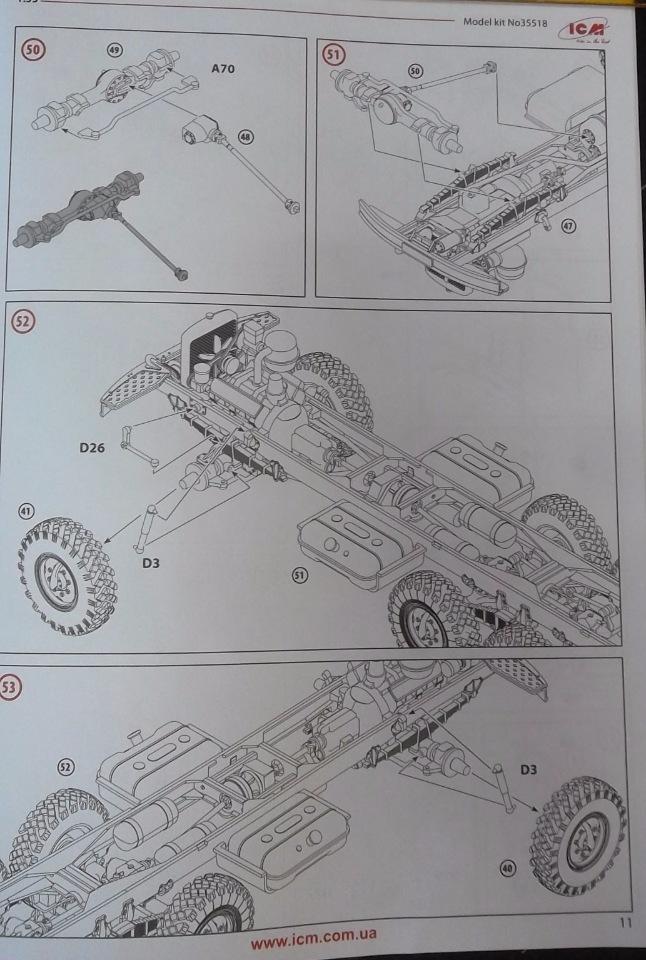 Обзор ЗиЛ-131 Аварийная служба / КУНГ, 1/35 (ICM 35518).  F343338d7633