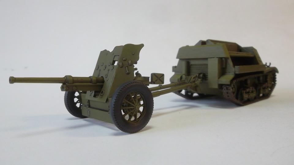 45-мм противотанковая пушка обр.1937 г., 1/35, (Алангер 035101). 99fe1d9d1ccd