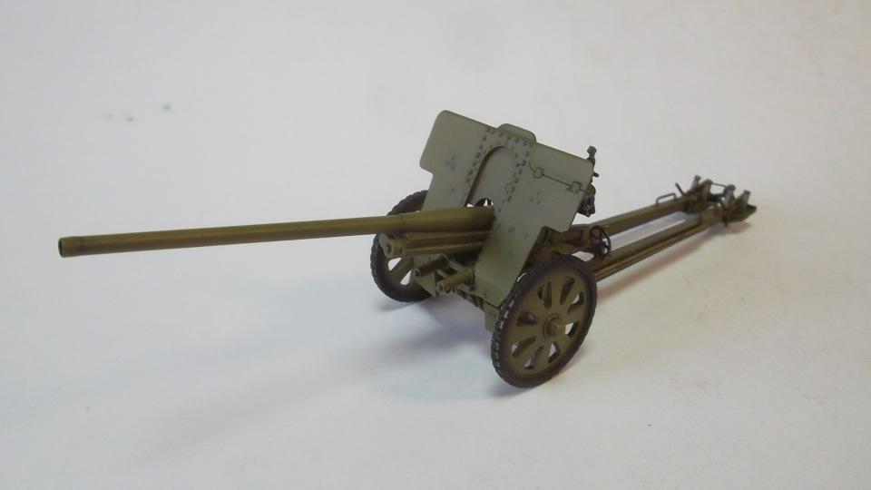 76-мм Дивизионная пушка Ф-22 обр.1936г., 1/35, (ICM 35702). E6500736c976