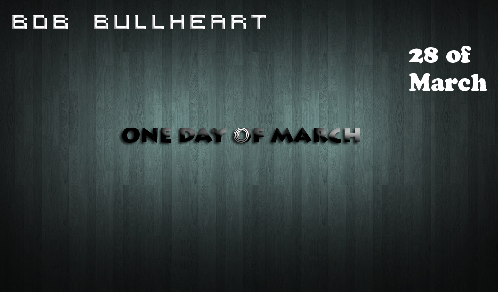 "Bob BullHeart present ""One Day of March"" 40ac84e43343"