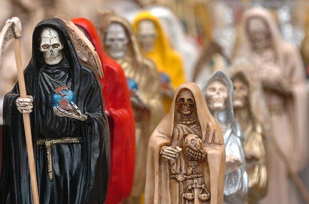 Santa Muerte. Святая Смерть 32cb1aac2f26