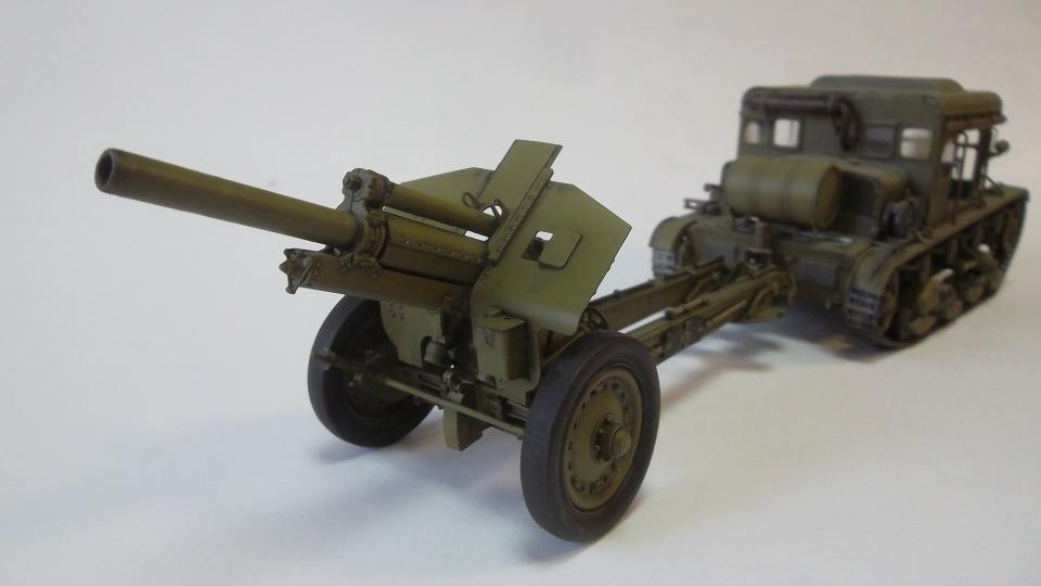 Тягач Т-26 / трофейный польский С7Р, 1/35, (Mirage hobby 35903). E3453044b0c9