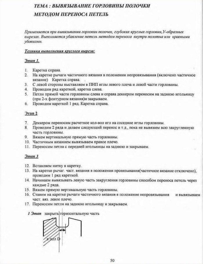 Начальный курс по обучению вязания на вязальной машине SILVER REED   3ea4ced62906