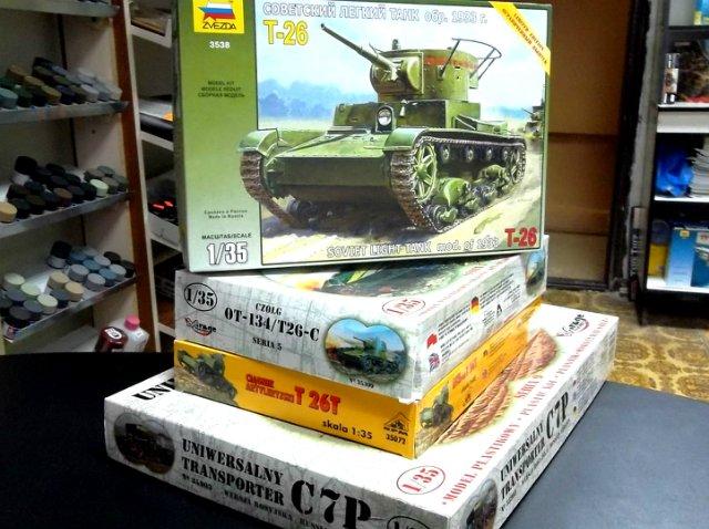 Обзор моделей танка Т-26 (и машин на его базе). Cb65710a496a