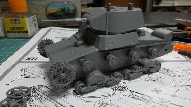 Т-26 обр. 1939 г. 1/35, (Mirage hobby 35309). 74340f0baf45