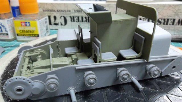 Тягач Т-26 / трофейный польский С7Р, 1/35, (Mirage hobby 35903). D6bc0893aa40