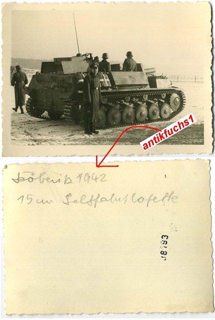 15 cm sIG auf Fahrgestell Pz II или Sturmpanzer II, 1/35, (ARK 35012) 5681c3e41927